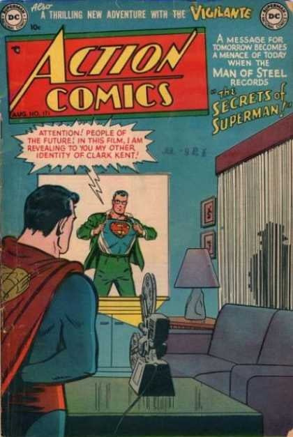 75 Action Comics covers that are worth their weight in gold
