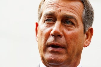 Sunday Morning Talk Show Turns Into Anti-Smoking Lecture for John Boehner