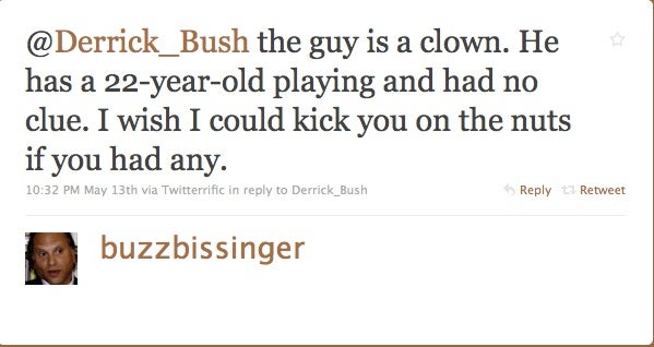 Buzz Bissinger's Twitter Tirade Makes Him All The More Lovable