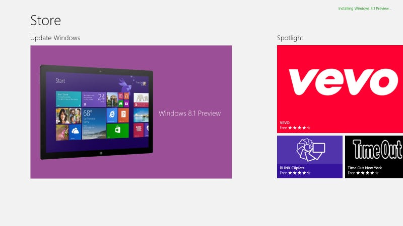 Here's How to Get the Windows 8.1 Preview for Free Right Now