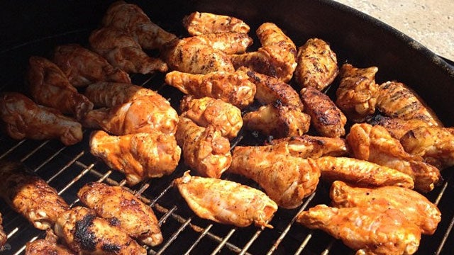 Grill Delicious Chicken Wings by Starting Them Off on the Cool Side