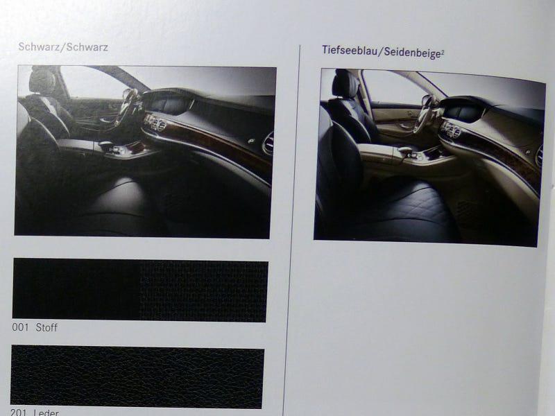 2014 S-Class Brochure!!!!!!