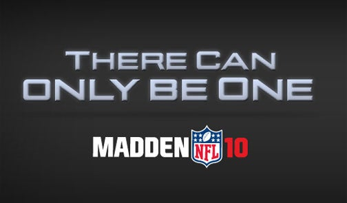 EA Passes Us A Madden NFL 10 Release Date