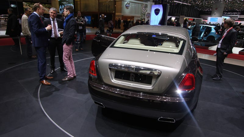 The Rolls-Royce Wraith Has Massive Suicide Doors