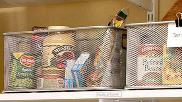 Divide Weekly Meal Ingredients Into Bins to Save Time and Help Identify Missing Items Before You Need Them