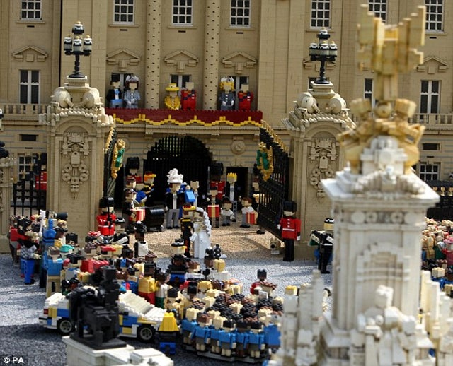 Even Lego is Bowing Down to Silly Royal Wedding Nonsense