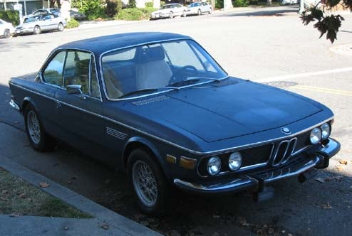 1974 BMW 3.0 CS, With Bonus BMW Poll