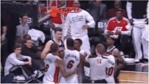 LeBron James Salty Over Hard Foul