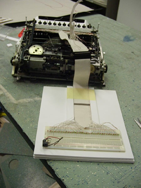 22 Pop Email Typewriter for Luddites