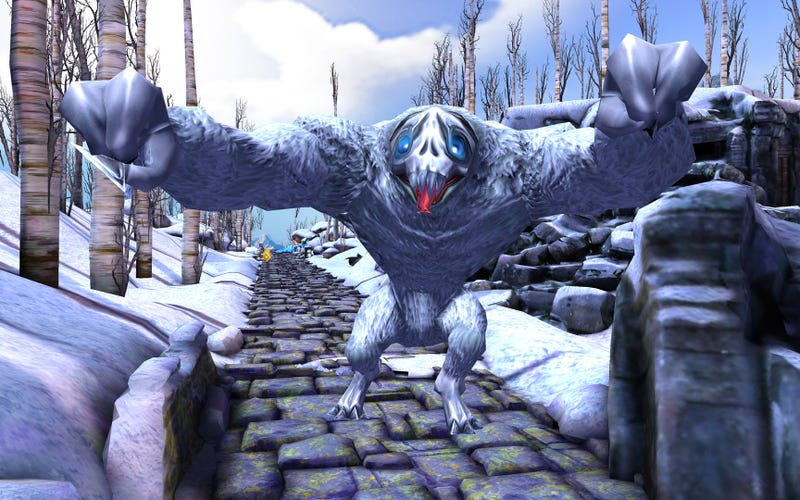 First-Person Temple Run Makes Samsung's VR Headset Terrifying