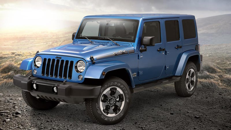 The Jeep Wrangler Polar Edition Is Something For Sub Zero