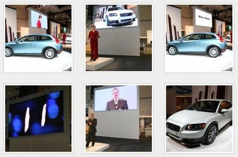 LA Auto Show: Stick a Volvo C30 in Your Ear