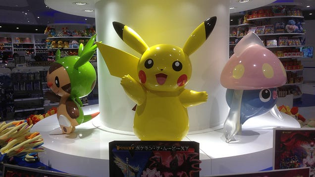 Visiting a Real Life Pokémon Center
