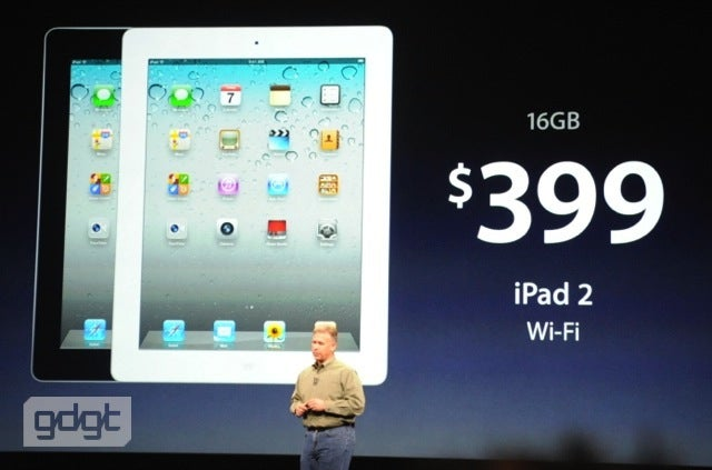 The iPad 2 Lives On and Gets a Price Cut: Now Only $400
