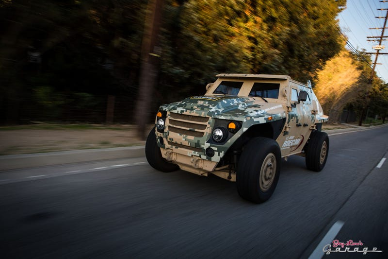 US ARMY's Fuel Efficient Demonstrator