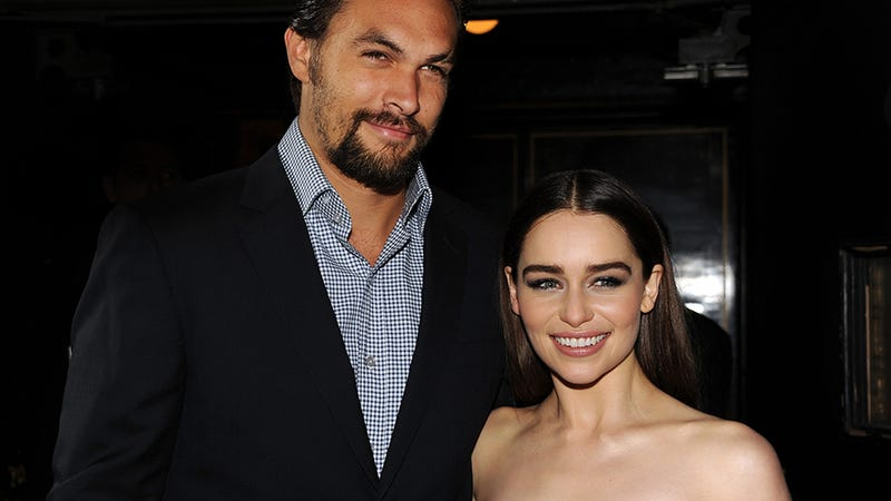 Drogo and Khaleesi Reunite at Game of Thrones Premiere