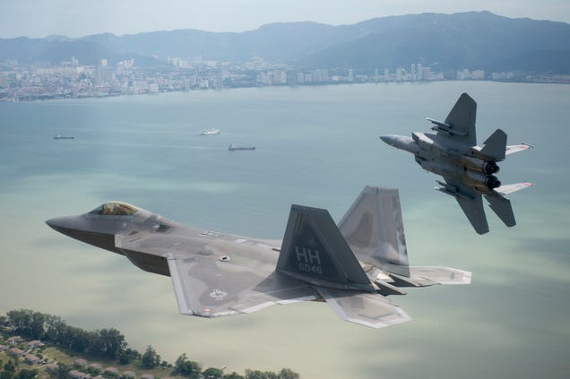 US Air Forces F22s  F15s Just Battled One Of Their Most Feared Foes