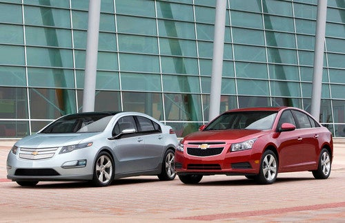 Chevy Family Photo Op: Mass-Marketing MPG And MPG For The Masses, Together At Last