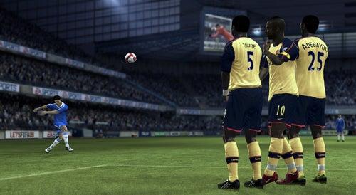 New FIFA 09 Screens