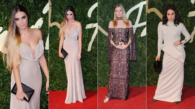 Space Royalty and See-Through Everything at the British Fashion Awards