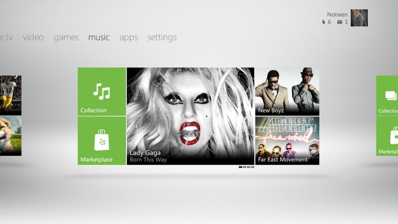 Does the New Xbox 360 Dashboard Look Familiar to You?