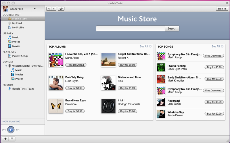 DoubleTwist + Amazon MP3 Store = One More Reason to Ditch iTunes