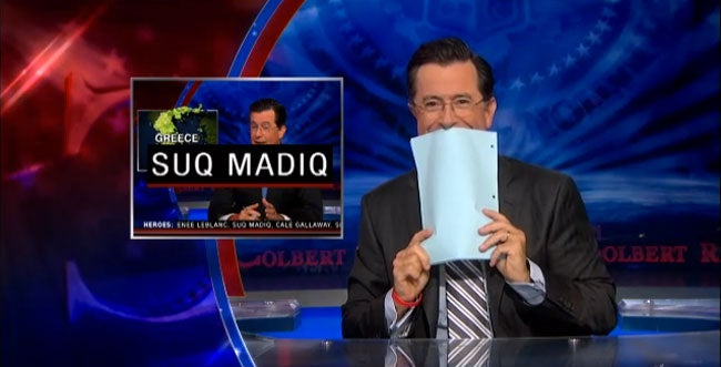 Real Or Fake, Stephen Colbert's Late Show Is Gonna Be Awesome