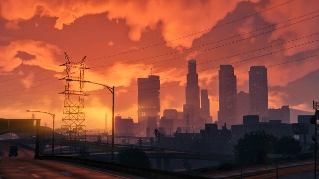 Playing GTA V Not As A Maniac, But As A Photographer