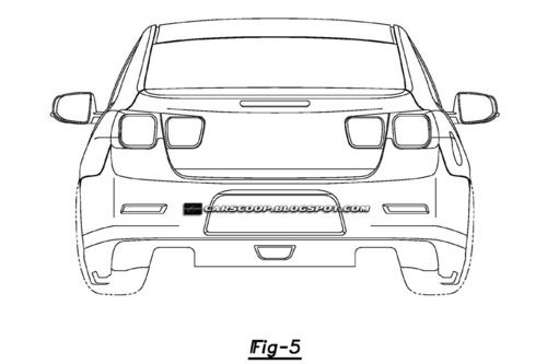 2012 Chevy Malibu Patent Images