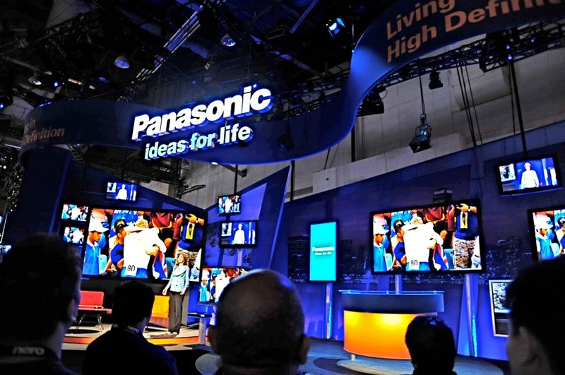 Seen at CES: Panasonic's Wall of HDTVs is the Most Beautiful