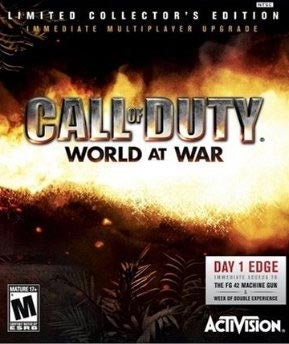 CoD World At War LE Owners Getting Double XP Week