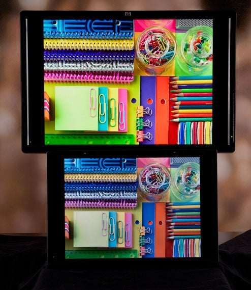 HP DreamColor LP2480zx Shows Off Its One Billion Colors