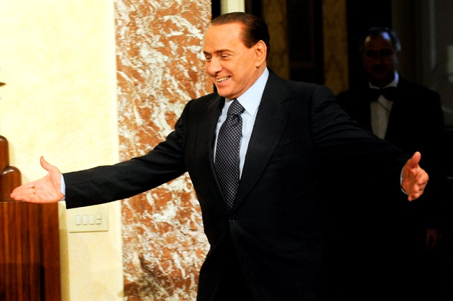 Berlusconi's Villa To Be Showered with Condoms, Panties This Weekend