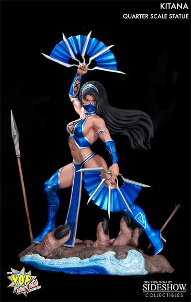 $355 Will Get You Your Very Own Giant Mortal Kombat Femme Fatale