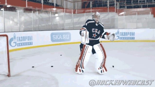 Goalie Backflip, Your Argument Is Invalid