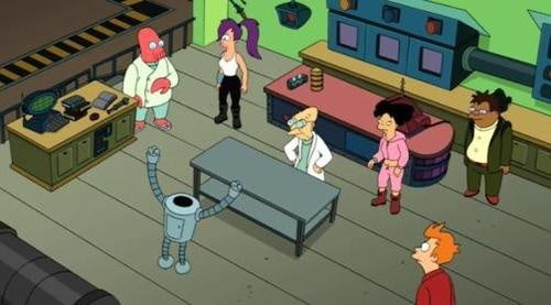 Coming soon on Futurama: mutant rights, brain-switching and surprising kisses!