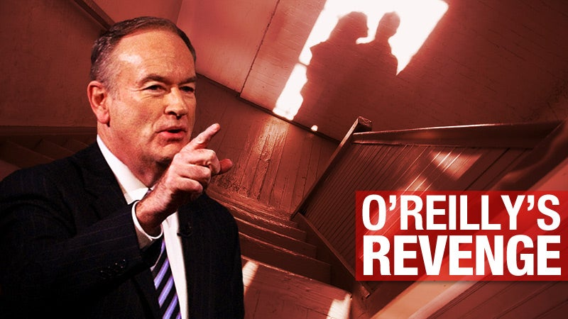 How Bill O'Reilly Tried to Get His Wife's Boyfriend Investigated By the Cops