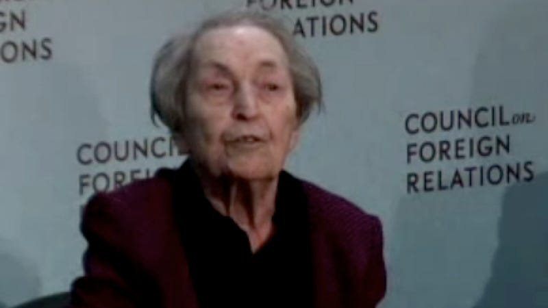 Economic Luminary Anna Schwartz Dies With a Lot of Pats on the Back But no Nobel Prize