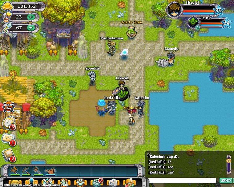 Free-to-Play Mini Heroes is Several Different RPGs in a Single package