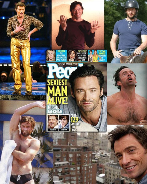 Your Hugh Jackman 'Sexiest Man Alive 2008' Keepsake Poster
