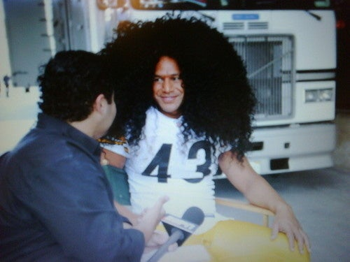 Oh Good, Troy Polamalu's on Twitter Now