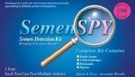 The Semen Detection Spy Kit Comes To Amazon.com
