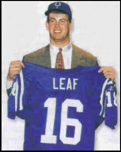 Ryan Leaf Cleans Out The Attic Of Tearful Regret