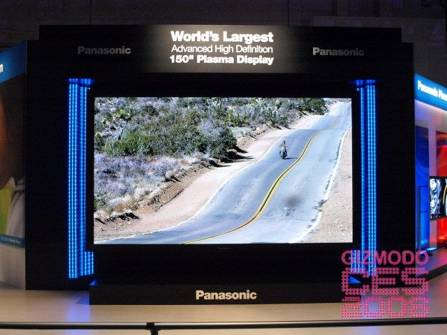 Holy Crap: First 150-Inch Plasma Photos