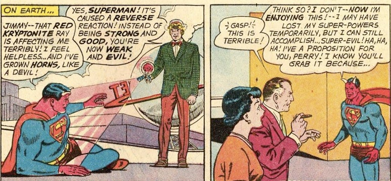 Remember when Superman turned into Satan?