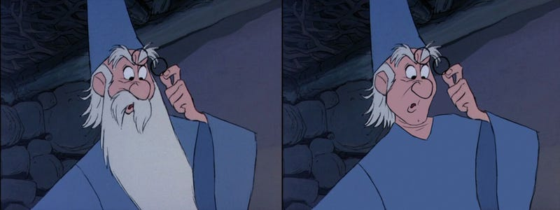 Which Disney men look better with facial hair?