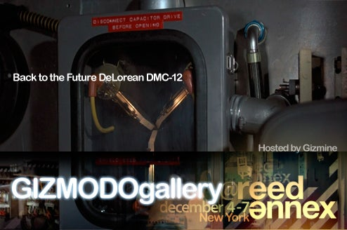 At Giz Gallery: Reader Meetup With a Back To the Future DeLorean