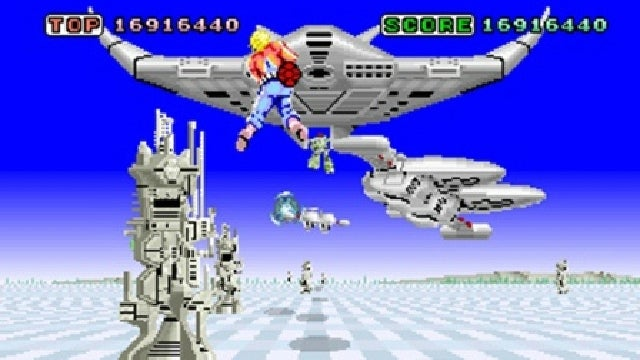 Space Harrier Going 3D and Coming to Nintendo eShop