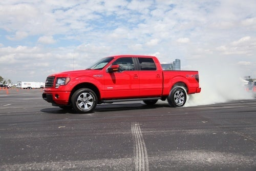 Ford F-150 Ecoboost: Efficient Rubber Burning