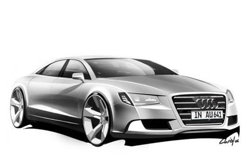 Audi Drops Sketches Of A5 Cabrio, Sportback, A7 And Next-Gen A8